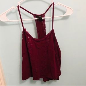 FOREVER 21 Cropped Tank Top Size S